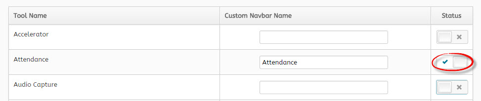 Making Attendance Active